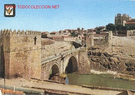 TOLEDO PUENTE DE SAN MARTÍN (Postales - España - Castilla la Mancha Moderna (desde 1940))