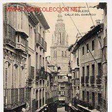Postales: TOLEDO. CALLE DEL COMERCIO. ED. HAUSER Y MENET. Nº 1. CIRCULADA. Lote 2658092