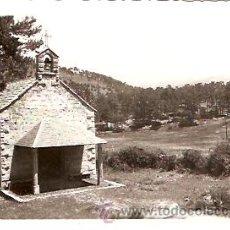 Postales: POSTAL SAN RAFAEL CAPILLA DEL CARMEN . Lote 10419711