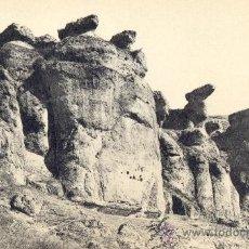 Postales: CUENCA. ROCAS ARTÍSTICAS. POSTAL BLANCO Y NEGRO, C. 1925. CU. Lote 23792658