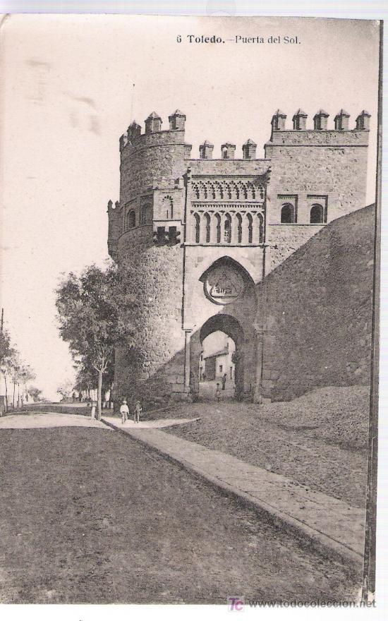 TOLEDO.-PUERTA DEL SOL. J. LACOSTE Nº 6. (Postales - España - Castilla La Mancha Antigua (hasta 1939))