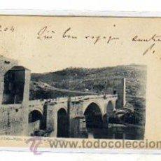 Postales - Toledo. fot Laurent. nº 5. Puente de San Martín. Reverso sin dividir. circulada. - 10957271