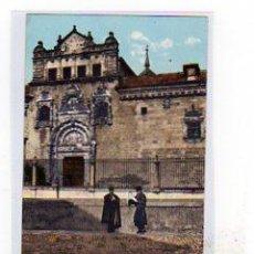 Postales: TOLEDO. FACHADA DE SANTA CRUZ. PURGER & CO. 2190 REVERSO SIN DIVIDIR. SIN CIRCULAR.. Lote 14657640