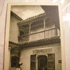 Postales: TOLEDO.PATIO DE LA CASA DEL GRECO. Lote 11002344