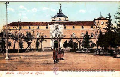 POSTAL DE TOLEDO Nº 2196 HOSPITAL DE AFUERA PURG & Cº (Postales - España - Castilla La Mancha Antigua (hasta 1939))