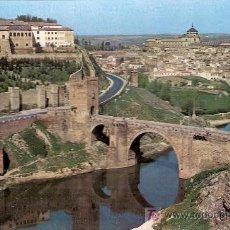 Postales: POSTALES ANTIGUAS TOLEDO - PUENTE DE ALCANTARA 1967 (POSTAL SIN CIRCULAR). Lote 27009431