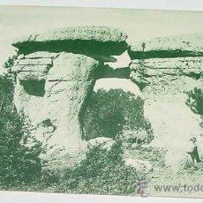 Postales: ANTIGUA POSTAL DE CUENCA - CIUDAD ENCANTADA - HAE - SIN CIRCULAR. Lote 11560125