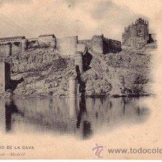 Postales: Nº 17845 POSTAL TOLEDO SIN DIVIDIR HAUSER Y MENET EL BAÑO DE LA CAVA. Lote 11865502
