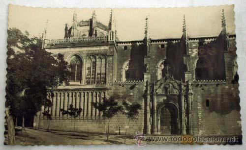 POSTAL TOLEDO SAN JUAN DE LOS REYES AÑOS 50 (Postales - España - Castilla la Mancha Moderna (desde 1940))