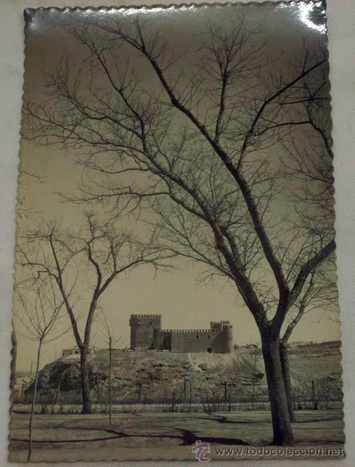 POSTAL TOLEDO CASTILLO DE SAN SERVANDO AÑOS 50 (Postales - España - Castilla la Mancha Moderna (desde 1940))