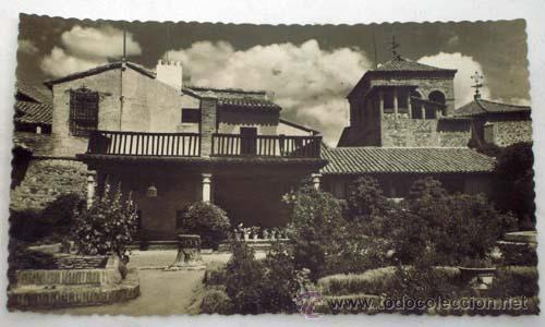 POSTAL TOLEDO CASA DEL GRECO AÑOS 50 (Postales - España - Castilla la Mancha Moderna (desde 1940))
