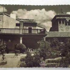 Postales: POSTAL TOLEDO CASA DEL GRECO AÑOS 50. Lote 12139101
