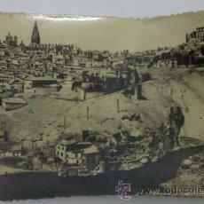 Postales: POSTAL TOLEDO VISTA GENERAL PANORÁMICA AÑOS 50. Lote 12448602