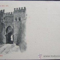 Postales: TOLEDO – PUERTA DEL SOL - DORSO INDIVISO CON ESCUDO. Lote 25254287