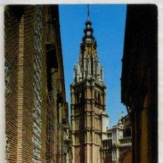 Postales: POSTAL TOLEDO TORRE CATEDRAL 1965. Lote 12303156