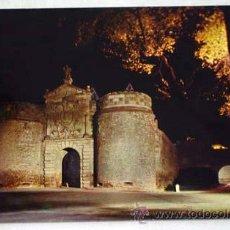 Postales: POSTAL TOLEDO NOCTURNA PUERTA DE VISAGRA BISAGRA 1971. Lote 12304083