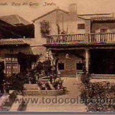 Postales: POSTAL DE TOLEDO- - CASA DEL GRECO -JARDIN. Lote 12471413