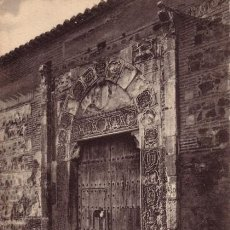 Postales: Nº 6301 POSTAL TOLEDO SIN DIVIDIR PUERTA DEL PALACIO DEL REY D PEDRO. Lote 12508019