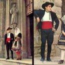 Postales: TOLEDO. PERSONAJES CON TRAJE TÍPICO. DOS POSTALES COLOR, 1968. TO . Lote 26189264