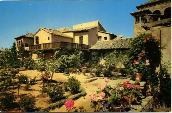 JARDIN Y CASA GRECO ( TOLEDO )+ POSTALES Y MUCHO + EN MI TIENDA (Postales - España - Castilla la Mancha Moderna (desde 1940))