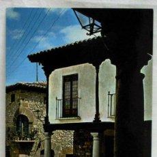 Postales: POSTAL ATIENZA GUADALAJARA PLAZA MAYOR BALCÓN DE LA ESQUINA 1975. Lote 12996692