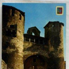 Postales: POSTAL SIGÜENZA GUADALAJARA ENTRADA CASTILLO AÑOS 70. Lote 12996850