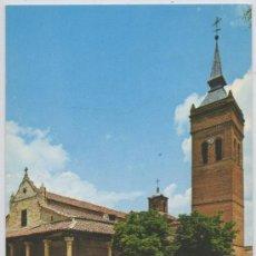 Postales: TARJETA POSTAL IGLESIA CONCATEDRAL SANTA MARIA LA MAYOR GUADALAJARA. Lote 13156109
