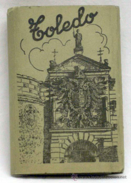 12 POSTALES ACORDEÓN TOLEDO ED GARCÍA GARRABELLA Nº 1 CON SU FUNDA TAMAÑO 9 CM X 6 CM (Postales - España - Castilla la Mancha Moderna (desde 1940))