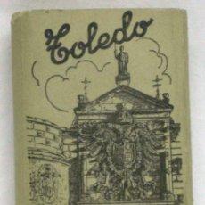 Postales: 12 POSTALES ACORDEÓN TOLEDO ED GARCÍA GARRABELLA Nº 1 CON SU FUNDA TAMAÑO 9 CM X 6 CM. Lote 13544299