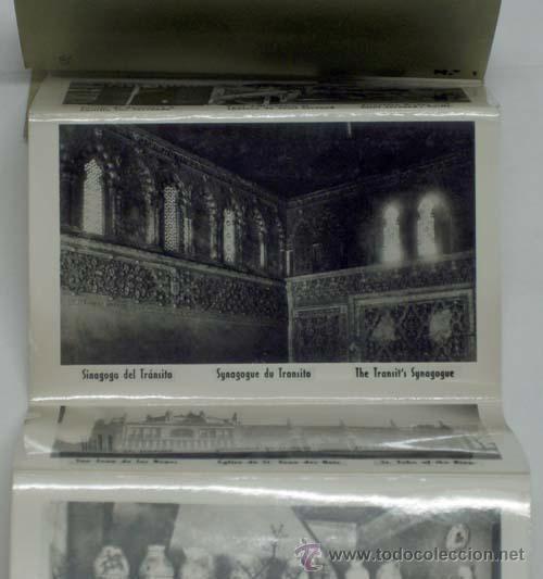 Postales: 12 postales acordeón Toledo Ed García Garrabella nº 1 con su funda tamaño 9 cm x 6 cm - Foto 2 - 13544299
