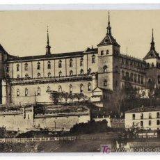 Postales: 1 TOLEDO - EL ALCÁZAR, ANTES DEL ASEDIO -HELIOTIPIA ARTISTICA ESPAÑOLA - MADRID. Lote 26338267