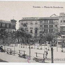 Cartes Postales: TOLEDO. PLAZA ZOCODOVER. FOTOTIPIA J. ROIG. SIN CIRCULAR. Lote 13797217