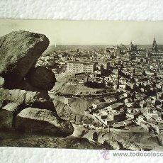 Postales: TOLEDO VISTA PARCIAL CIRCULADA 1960. Lote 13804149