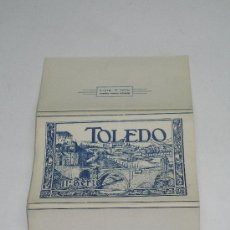 Postales: TOLEDO II ª SERIE . DESPLEGABLE DE 10 POSTALES . HELIOTÍPIA ARTÍSTICA ESPAÑOLA . . Lote 13819490