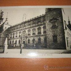Postales: 7.-TOLEDO FACHADA PRINCIPAL DEL ALCAZAR CIRCULADA. Lote 14033543