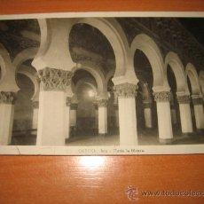 Postales: TOLEDO SANTA MARIA LA BLANCA CIRCULADA. Lote 14033737