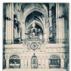 Postales: TARJETA POSTAL DE TOLEDO. CATEDRAL, TRASCORO. 1325 HAUSER Y MENET. Lote 14205231