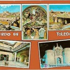 Postales: BONITA POSTAL RECUERDO DE TOLEDO. Nº 4607, NO CIRCULADA, EDITA: BEASCOA.. Lote 14295992