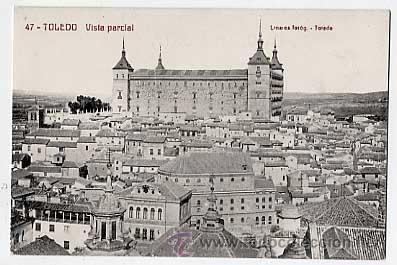 TOLEDO. VISTA PARCIAL. LINARES, FOTOG. ESCRITA (Postales - España - Castilla La Mancha Antigua (hasta 1939))
