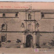 Postales: TOLEDO.- HOSPITAL DE AFUERA. FRANQUEADO Y FECHADO 1916.. Lote 14894737