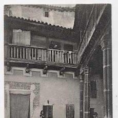 Cartes Postales: TOLEDO. UN PATIO ANTIGUO. FOT. C. GARCES. ANTERIOR A 1905. SIN CIRCULAR. Lote 15107282