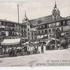 Cartes Postales: TOLEDO. PLAZA ZOCODOVER. HAE. SIN CIRCULAR. Lote 15119573