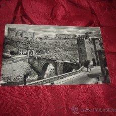 Postales: TOLEDO PUENTE DE ALCANTARA,DOMINGUEZ-MADRID FOTO CEBOLLERO . Lote 15228172