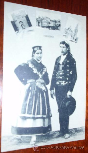 POSTAL TOLEDO ROIG (Postales - España - Castilla La Mancha Antigua (hasta 1939))