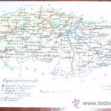 Postales: POSTAL MAPA TOLEDO - ALBERTO MARTIN. Lote 21890022