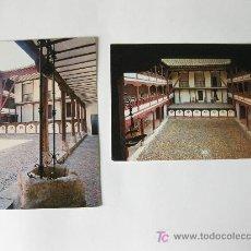 Postales: 2 POSTALES DEL CORRAL DE COMEDIAS DE ALMAGRO - CIUDAD REAL. Lote 23364184