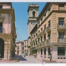 Postales: TARJETA POSTAL DE ALMANSA AYUNTAMIENTO PLAZA CAUDILLO ALBACETE BANCO ESPAÑOL DE CREDITO. Lote 15733548