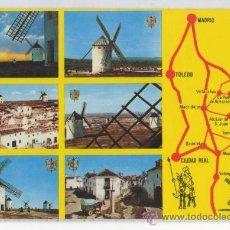 Postales: TARJETA POSTAL DE CAMPO DE CRIPTANA MOLINOS MANCHEGOS EN LAS RUTAS DEL QUIJOTE CIUDAD REAL. Lote 15837591