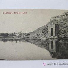 Postales: POSTAL DE TOLEDO. BAÑO DE LA CAVA. Lote 23683059