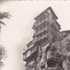 Postales: CUENCA: CASAS COLGADAS: BONITA TARJETA POSTAL EDICIONES GARCIA GARRABELLA CIRCULADA 1958 A MADRID.. Lote 16218165